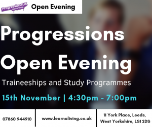 Progressions Open Evening